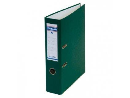 Zakladač pákový DONAU poloplastový s lištou Master-S 7,5cm zelený