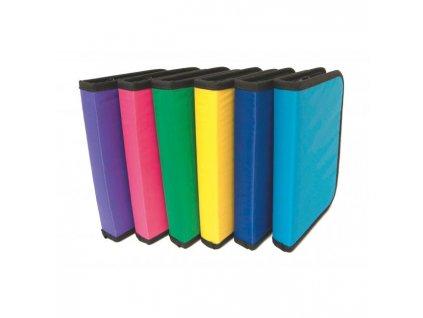 Peračník 1-zipsový prázdny mix farieb