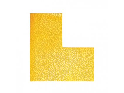 Podlahové značenie `L` žlté 10ks