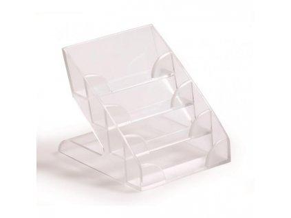 Box na vizitky DURABLE BUSINESS CARD DISPLAY BOX