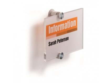 Informačná tabuľka Crystal Sign 148x105 mm