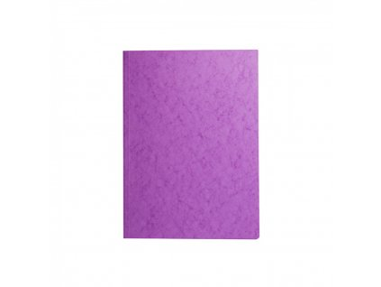 Odkladacia mapa 253 s chlopňami prešpán fialová