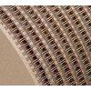 Drôtená väzba v návine 3:1- 16 mm (5/8″) – strieborná