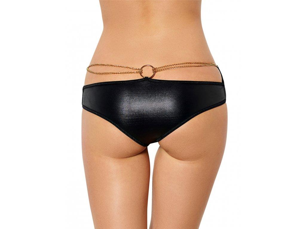 Dámské koženkové kalhotky P5062