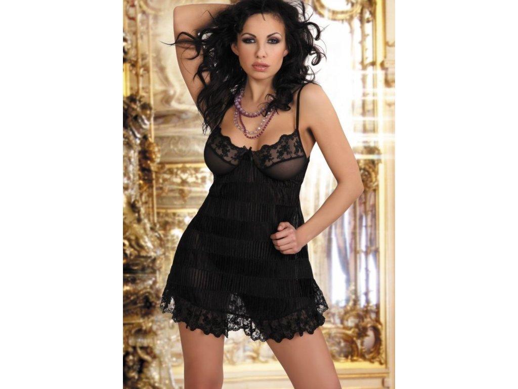 LivCo Corsetti Bella dámská košilka černá