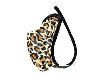 C-string tanga pánská PM1 s motivem leoparda