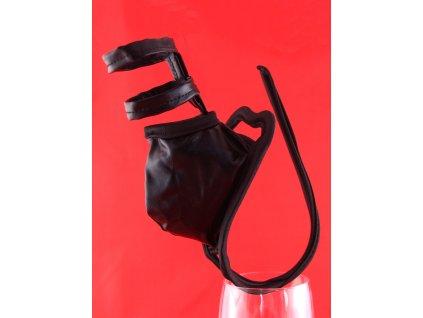 Černá erotická Cstring tanga PM74 pro muže