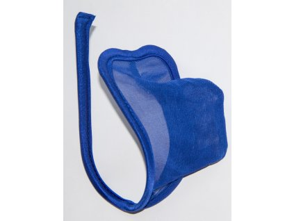 Pánské modré Cstring tanga PM110