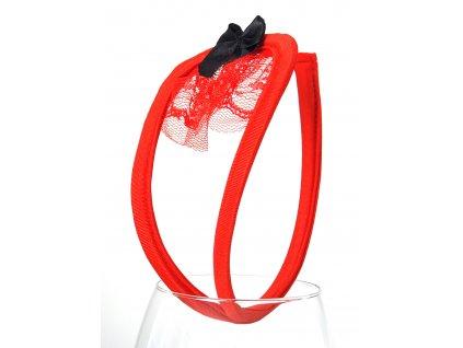 Dámská červená Cstring tanga Q45
