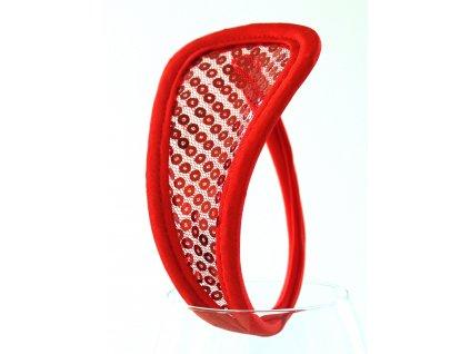 Červené Cstring tanga SH33
