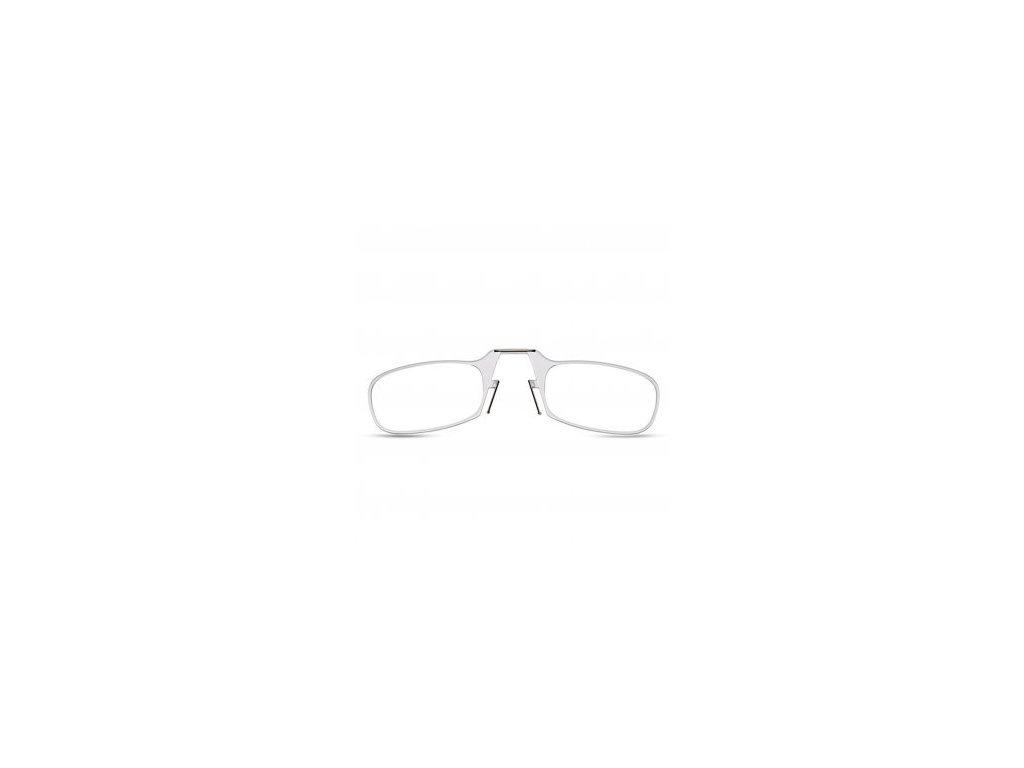 Čtecí brýle bílé 1,0 dioptrie / bílé pouzdro