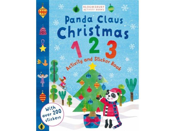 Panda Claus Christmas 123