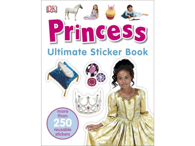 Princess Ultimate Sticker Book