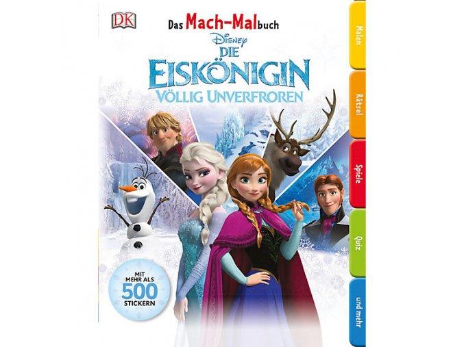 Das Mach-Malbuch Disney Die Eiskönigin