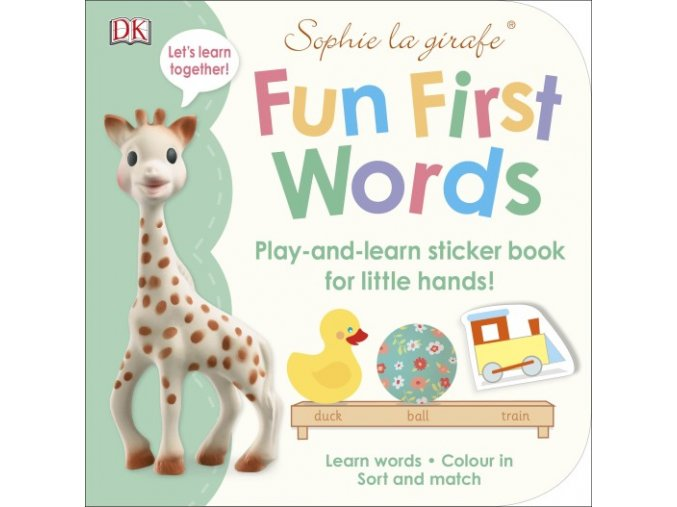 Sophie la girafe Fun First Words
