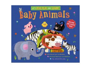Let's Read, Play and Learn: Baby Animals