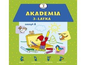 Akademia 3-latka Zeszyt A