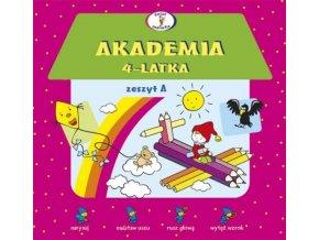 Akademia 4-latka Zeszyt A