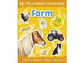 Ultimate Sticker Book Farm
