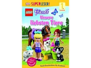 SUPERLESER! Lesestufe 1 LEGO® FRIENDS Unsere liebsten Tiere
