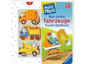 Mein großes Fahrzeuge Puzzle-Spielbuch