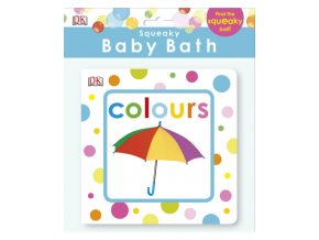 Squeaky Baby Bath Book Colours
