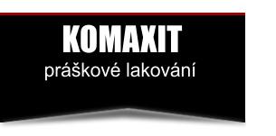 Komaxit - práškové lakování