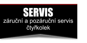 SERVIS čtyřkolek