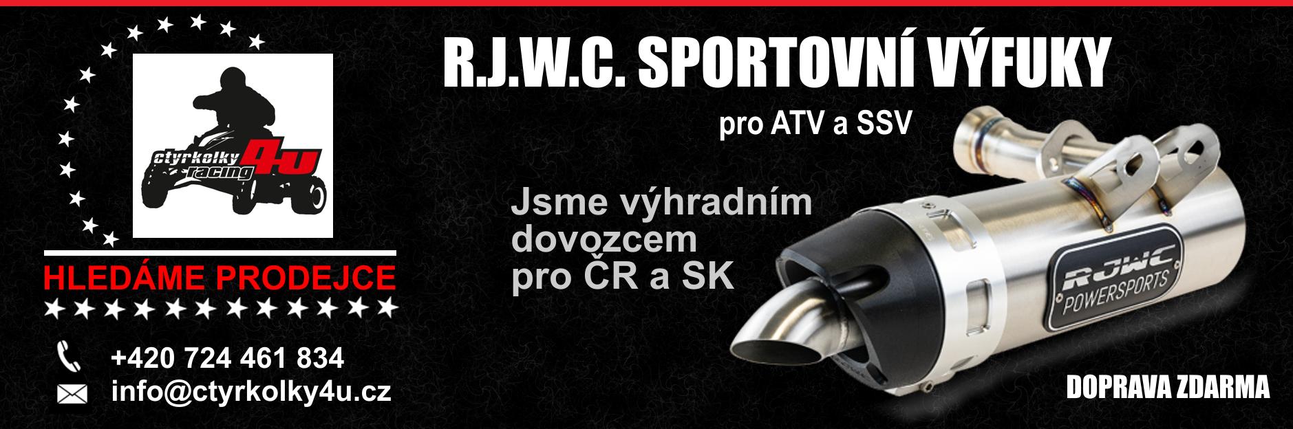 Výhradní dovozce R.J.W.C. CZ & SK