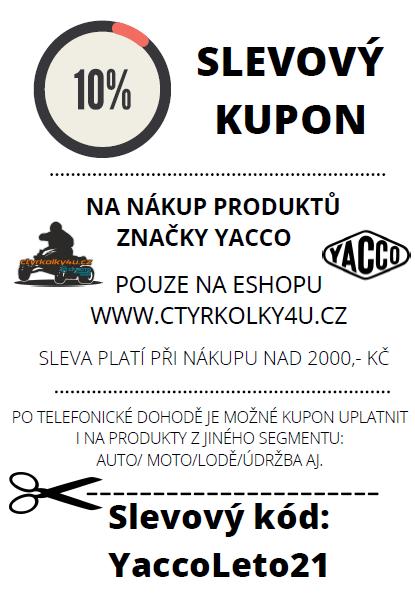 Yacco kupón -10%