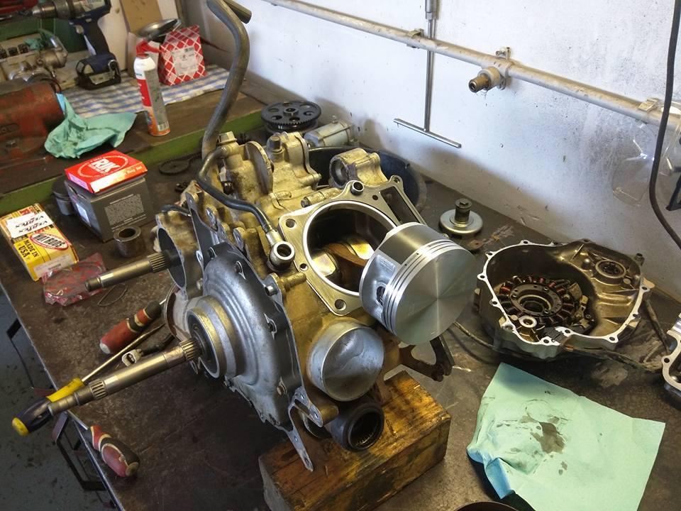 Generální oprava motorů - čtyřkolky - 2