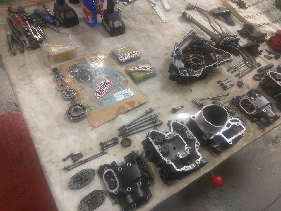 Generální oprava motorů - čtyřkolky - 5