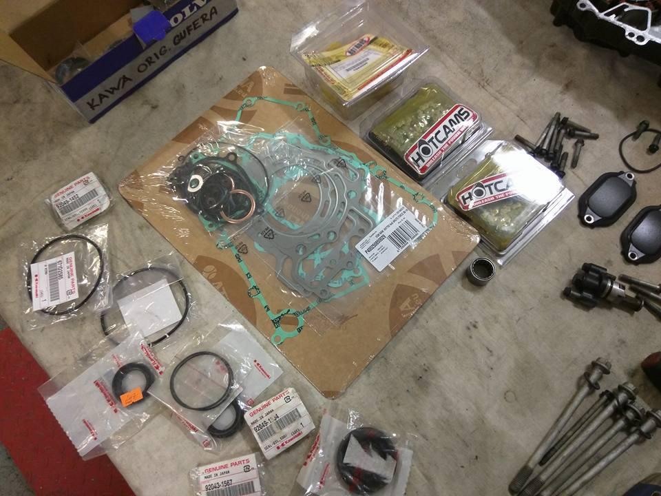 Generální oprava motorů - čtyřkolky - 6