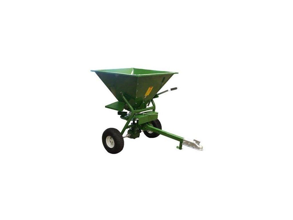 Posypový vozík / ATV rozmetadlo solí a hnojiv, 160 kg tažený