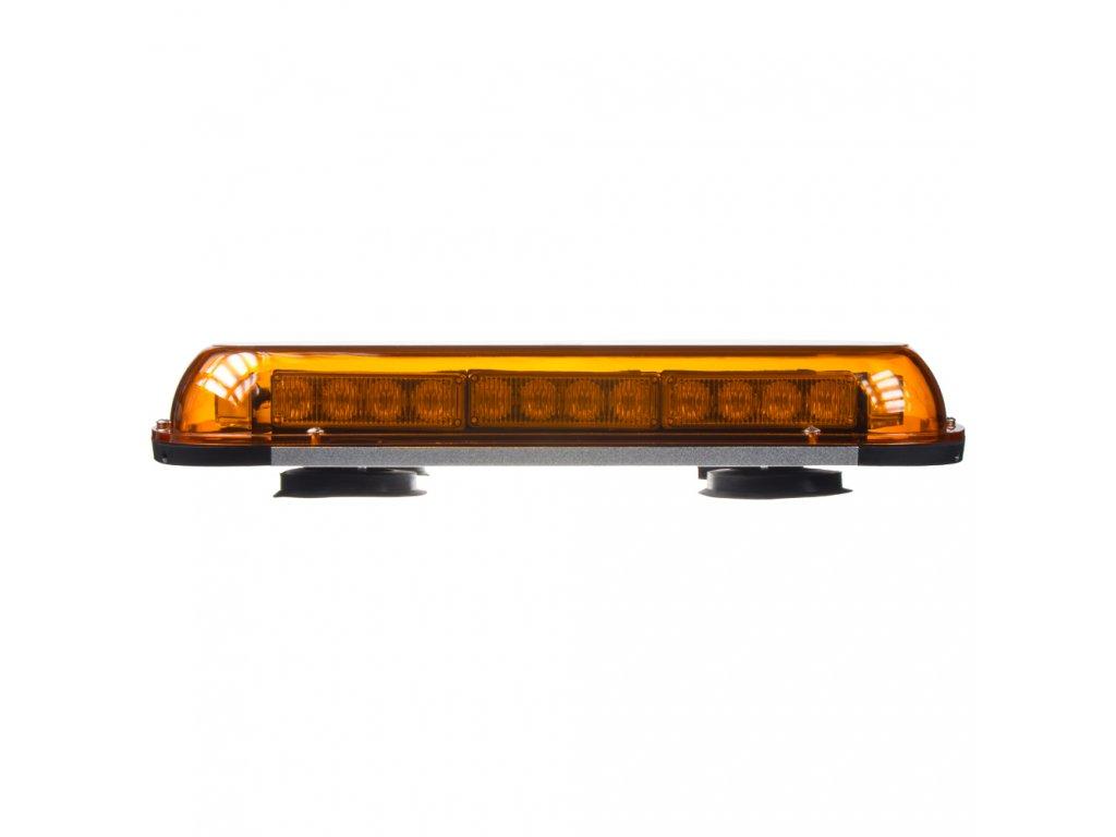 Rampa oranžová, 32LEDx1W, magnet, 12-24V, 440mm, ECE R10