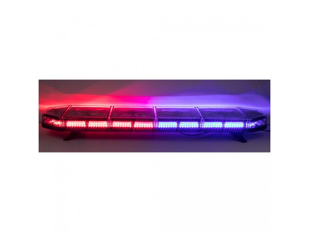 LED rampa 1149mm, modro-červená, 12-24V, homologace ECE R10