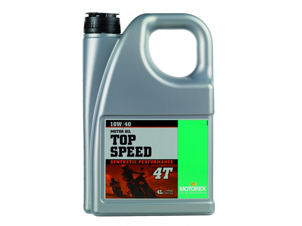 Motorex TOP SPEED 4T - 4L / 10W40