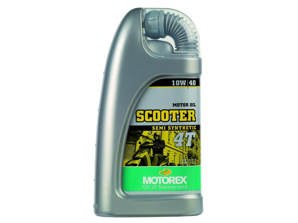 Motorex SCOOTER 4T - 1L / 10W40