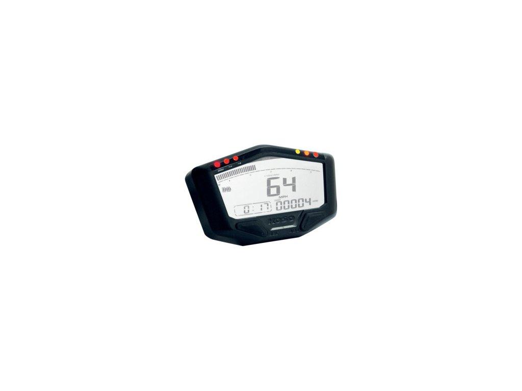 Koso DB02 multifunkční motocyklový digitální tachometr s otáčkoměrem