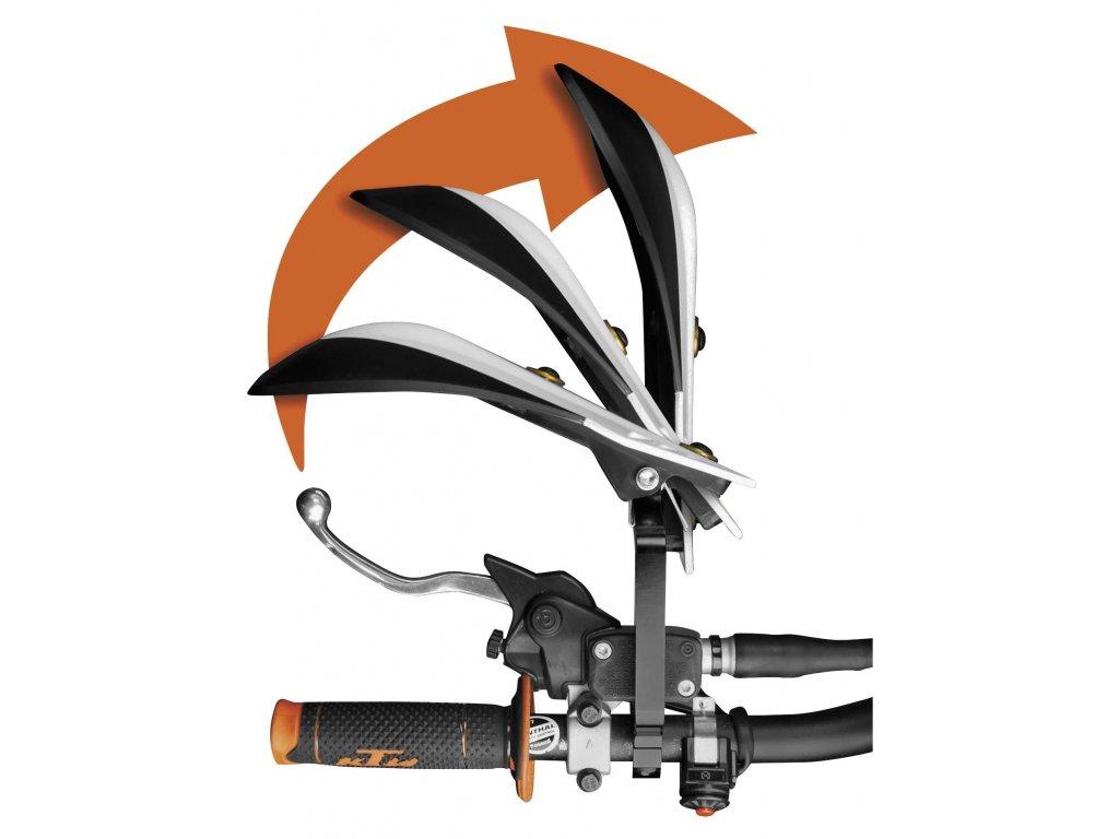 Chrániče rukou Cycra Rebound pro ATV - černé