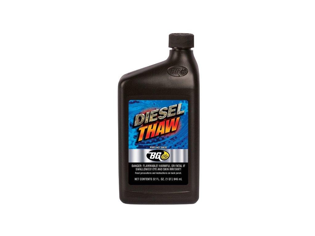 BG 256 DIESEL THAW Zamrzlá nafta a spalovací systém
