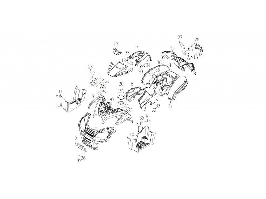 SMC 720R - rozkres - FRONT COVER