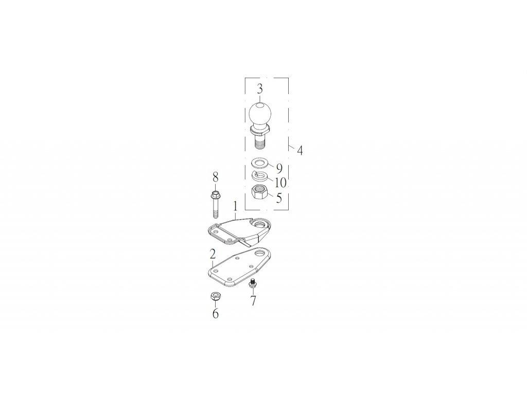 SMC 720R - rozkres - WINCH ( Accessory )