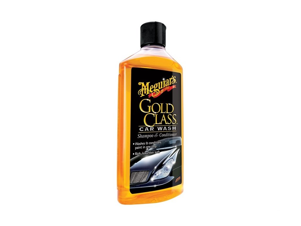 MEGUIARS Gold Class Car Wash Shampoo & Conditioner - autošampon s kondicionérem 473 ml