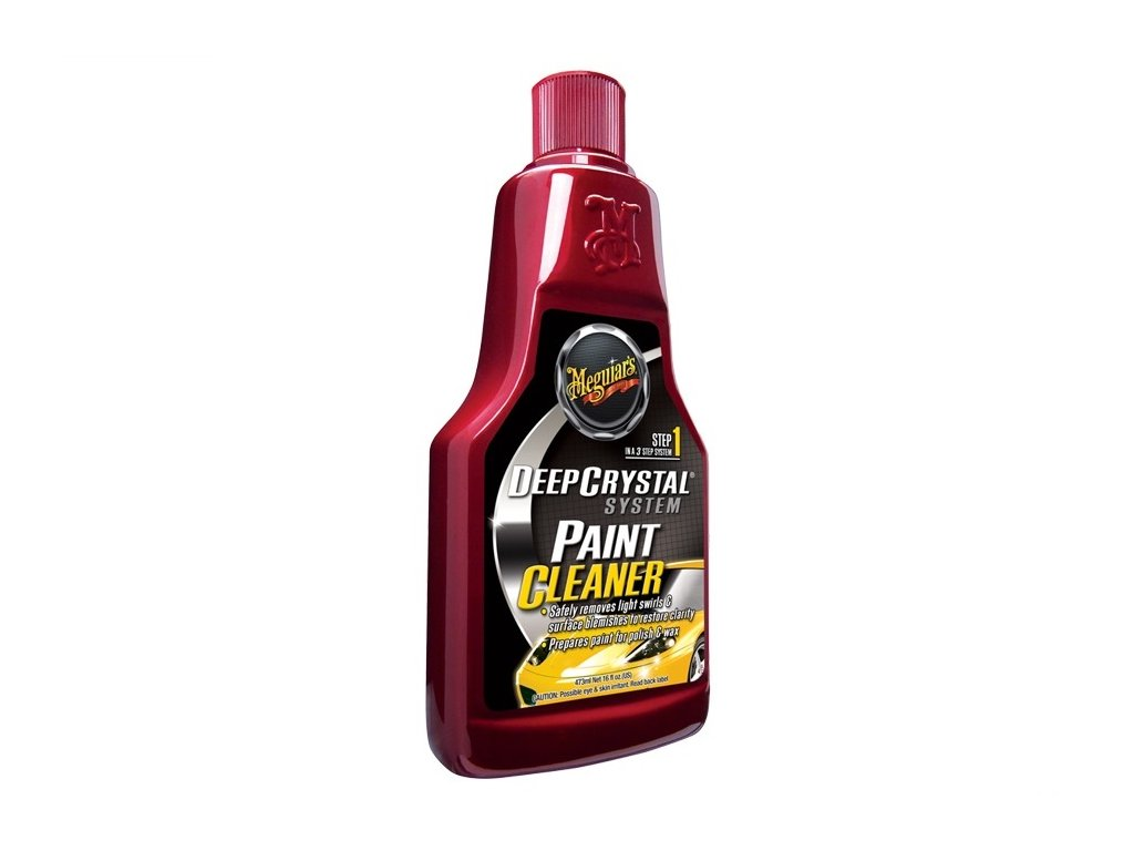 MEGUIARS Deep Crystal Step 1 Paint Cleaner - čistič laku 1. krok (3-krokový leštící set) 473 ml