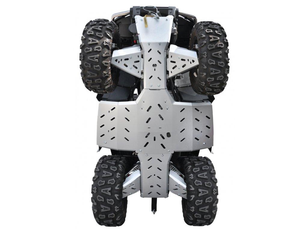 Ochranný kryt podvozku na čtyřkolku Gladiator X8 DeLuxe