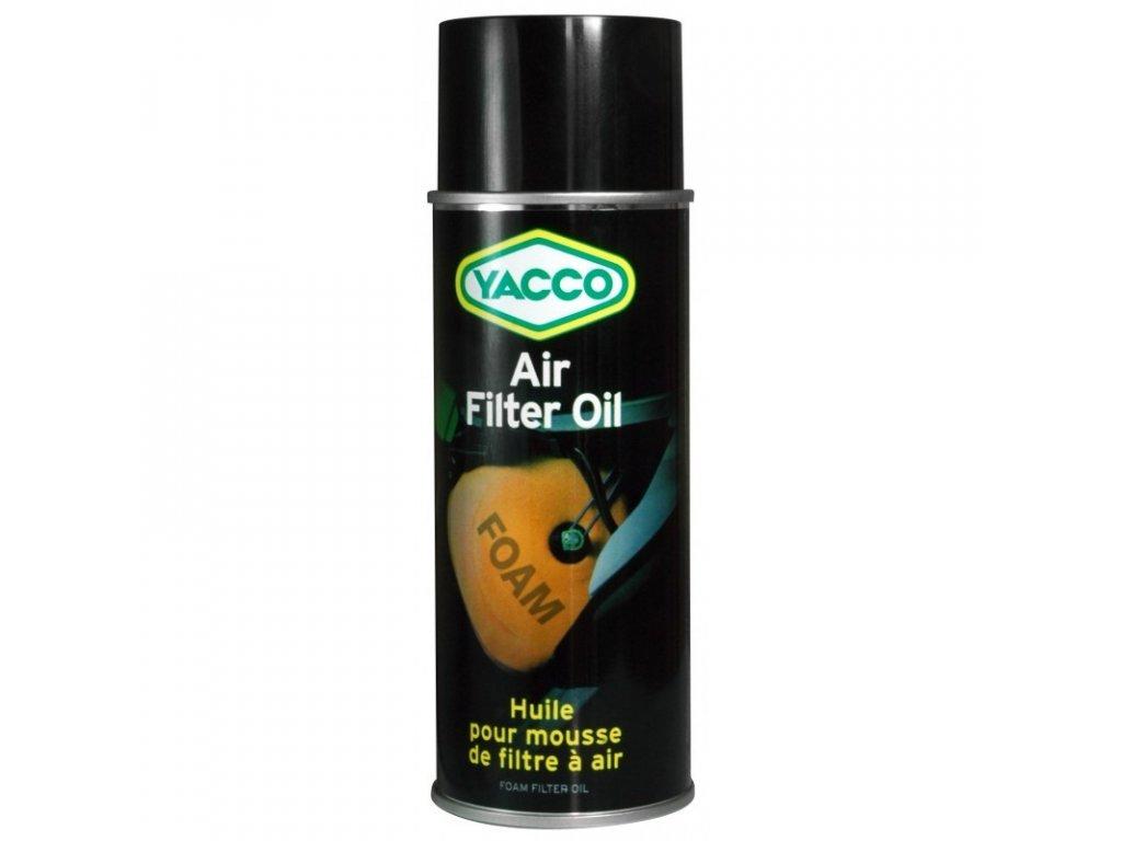yacco air filter oil