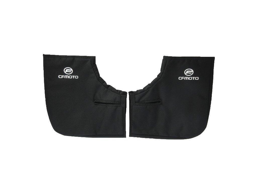 Zateplené návleky na čtyřkolku CF MOTO - černé