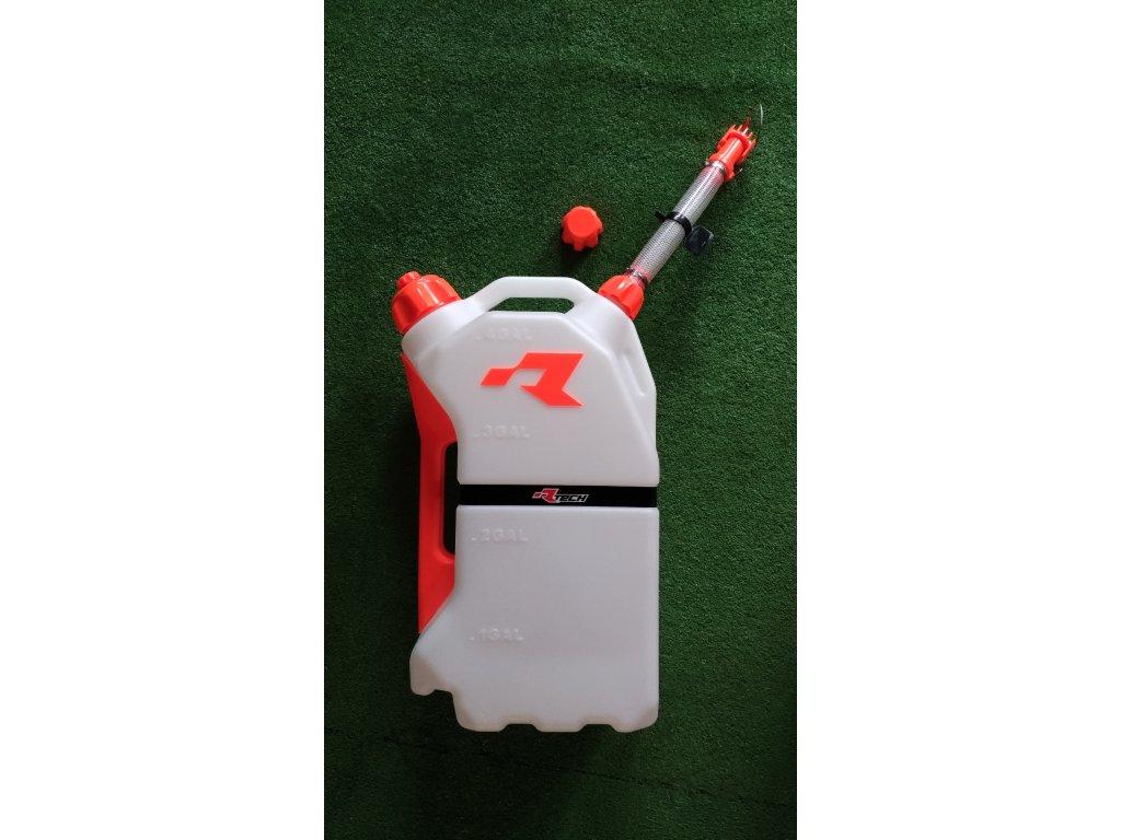 Rychlotankovací kanystr RTECH 15l, plastový, oranž