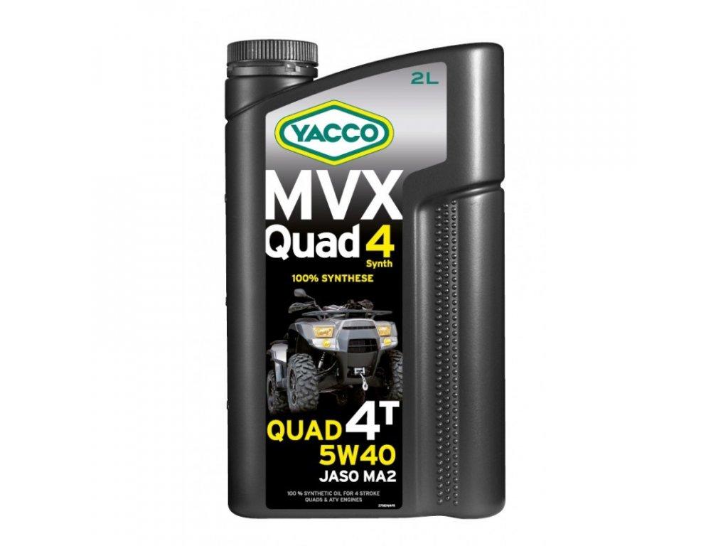 Yacco MVX Quad Synth 5W-40 2 l